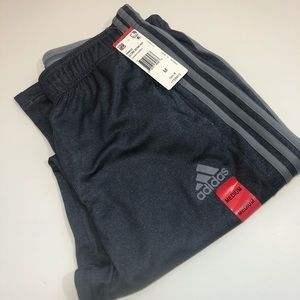 New adidas gray mens sweatpants joggers climalite